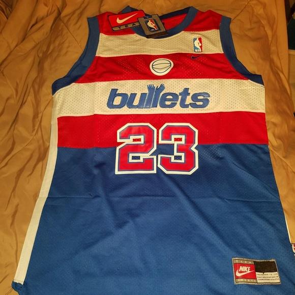 c2b7530a528 Michael Jordan Washington Bullets Jersey SIZE XXL